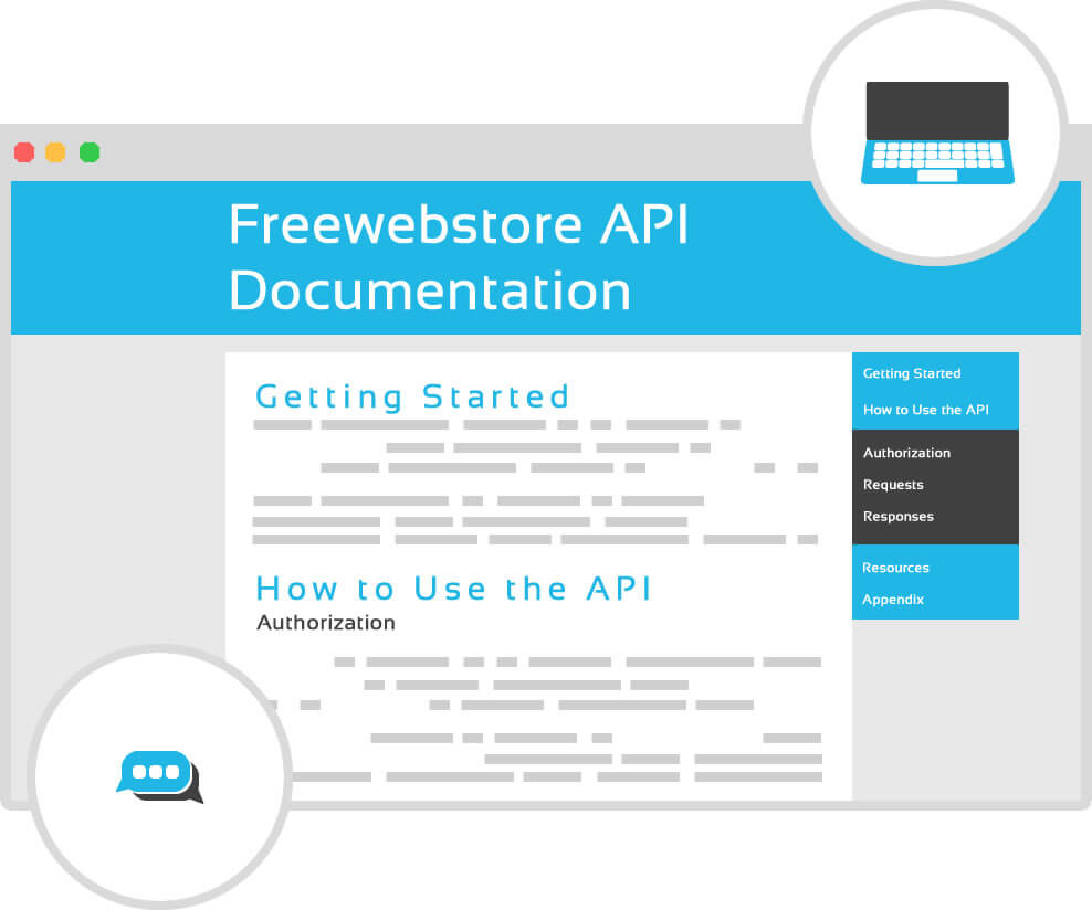 Freewebstore api premium feature